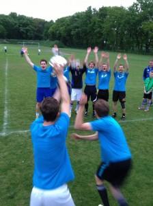 1. Mannschaft feiert Jux-Turnier-Sieg