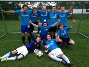 Sieger des Jux-Turnier 2013: 1. Mannschaft