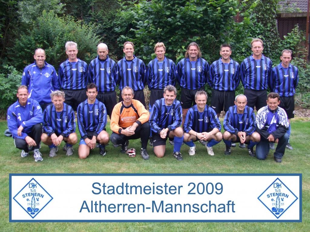 Stadtmeister Altherren 2009